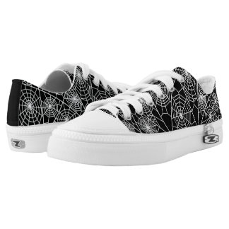 Spider Web Low Tops
