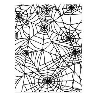 Spider Web Postcard