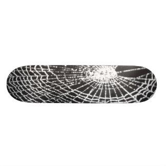 Spider Web Custom Skate Board