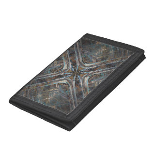 Spider Web Trifold Wallets