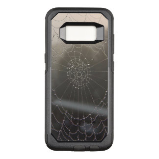 Spider Web With Morning Dew OtterBox Commuter Samsung Galaxy S8 Case