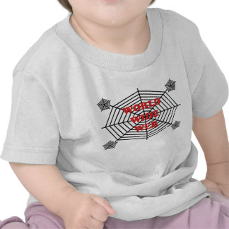 Spider Web - World Wide Web T-shirts