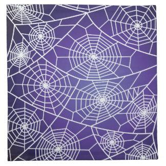 Spider webs napkin