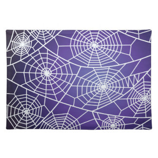 Spider webs placemat