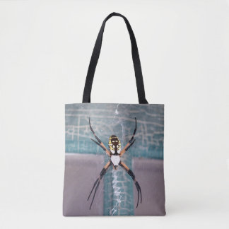 Spider  Welcome  Tote Bag