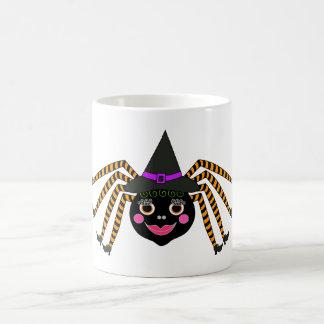 Spider Witch Halloween Coffee Mug