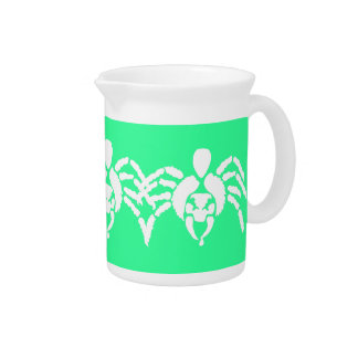 Spider With Venom on Fang Drink Pitchers