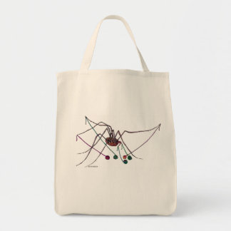 Spider with Yarn Tote Bag