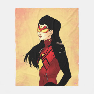 Spider-Woman Clenched Fists Fleece Blanket