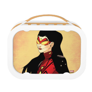 Spider-Woman Clenched Fists Lunch Box
