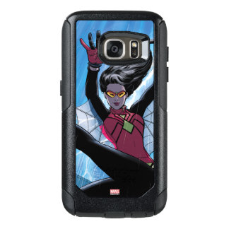 Spider-Woman Getting The Drop On Villain OtterBox Samsung Galaxy S7 Case