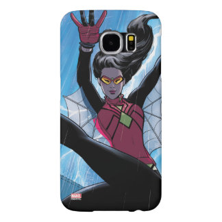 Spider-Woman Getting The Drop On Villain Samsung Galaxy S6 Cases