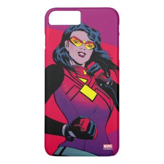 Spider-Woman Raised Fist iPhone 7 Plus Case