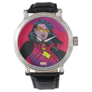 Spider-Woman Raised Fist Watch