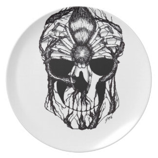 Spiderroots Plate