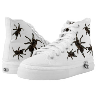 """Spiders attack"" High Tops"