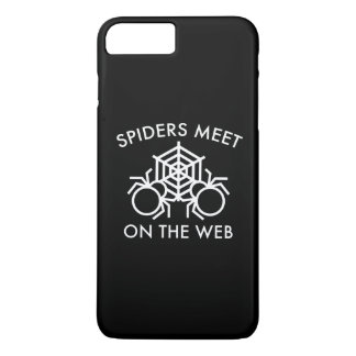 Spiders Meet On The Web iPhone 7 Plus Case