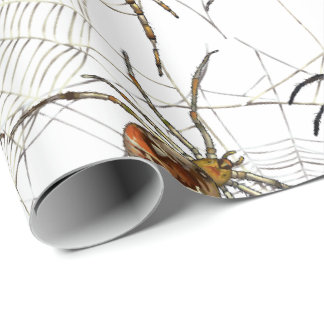 """Spiders Net Matte Wrapping Paper, 30"""" x 6' Wrapping Paper"""