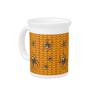 Spiders on Parade Pitcher