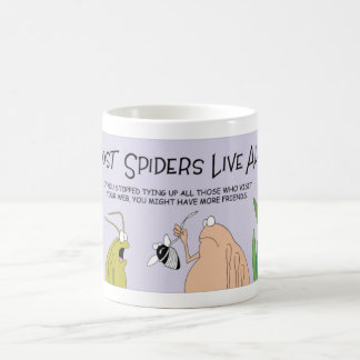 Spiders that live alone coffee mug