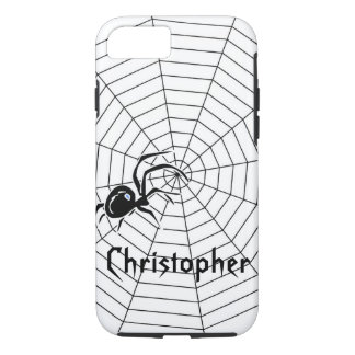 Spiders Web Just Add Name iPhone 8/7 Case