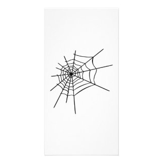 Spider's web picture card