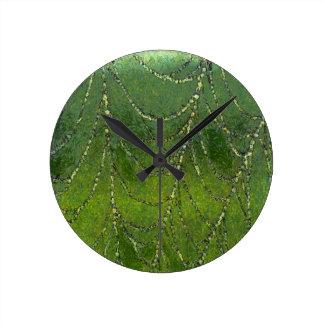 Spiders Web Round Clock