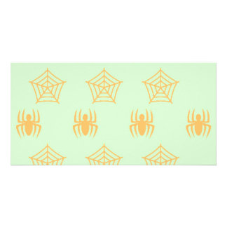 Spiders Webs Stationary for Halloween Photo Cards