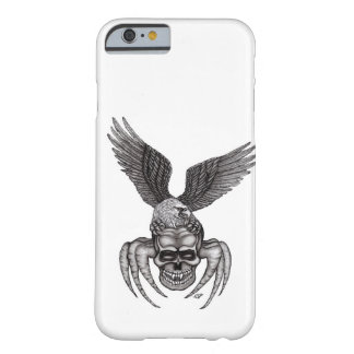 Spiderskull with Eagle Barely There iPhone 6 Case