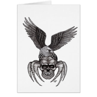 Spiderskull with Eagle Card