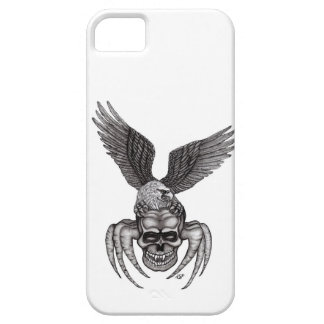 Spiderskull with Eagle iPhone 5 Case