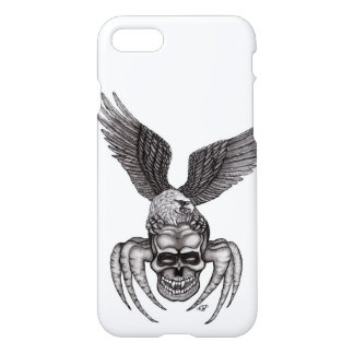 Spiderskull with Eagle iPhone 8/7 Case