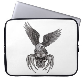 Spiderskull with Eagle Laptop Sleeve