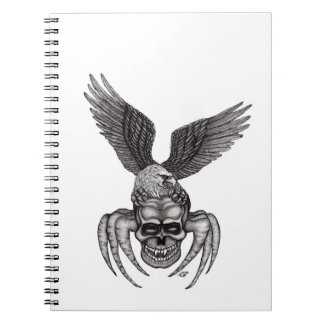 Spiderskull with Eagle Notebooks