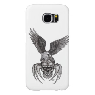 Spiderskull with Eagle Samsung Galaxy S6 Cases