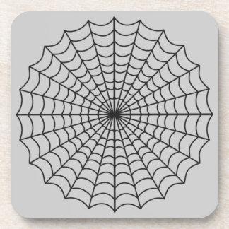 Spiderweb Haunted Halloween Coaster