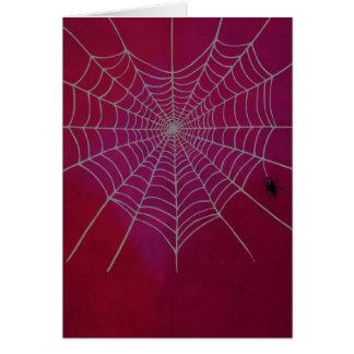 Spiderweb Heart Card