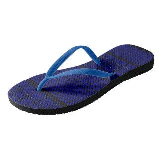 Spiderweb-Man Blue-Black Flip Flops