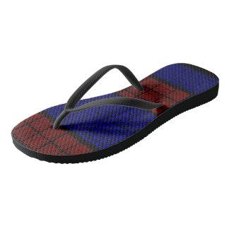 Spiderweb-Man Red-Blue Flip Flops