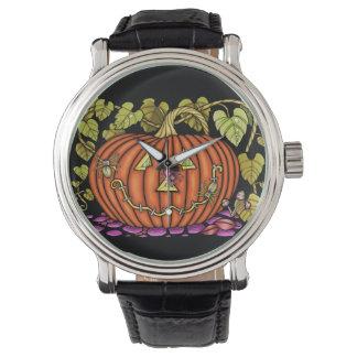 Spidery Jack O'Lantern Watch