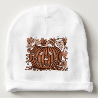 Spidery Pumpkin 20 Baby Beanie