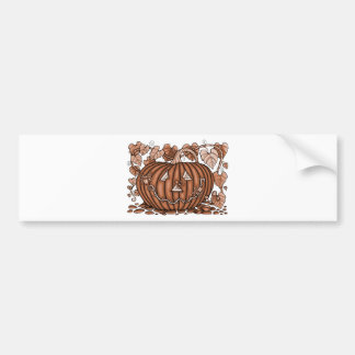 Spidery Pumpkin 20 Bumper Sticker
