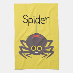 Spidey Spider Tea Towel