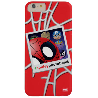 #spideyphotobomb Spider-Man Emoji Barely There iPhone 6 Plus Case
