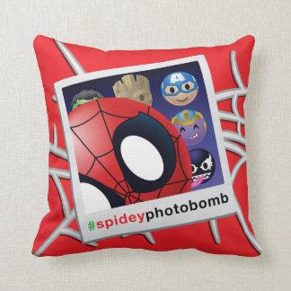 #spideyphotobomb Spider-Man Emoji Cushion