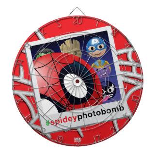 #spideyphotobomb Spider-Man Emoji Dartboard
