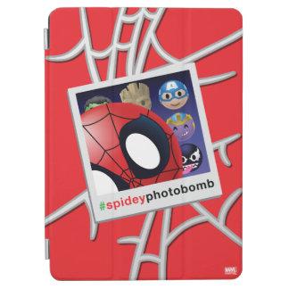 #spideyphotobomb Spider-Man Emoji iPad Air Cover