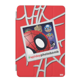 #spideyphotobomb Spider-Man Emoji iPad Mini Cover