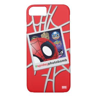 #spideyphotobomb Spider-Man Emoji iPhone 7 Case