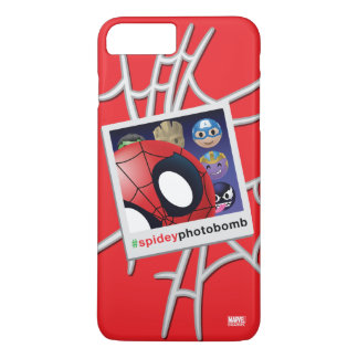 #spideyphotobomb Spider-Man Emoji iPhone 7 Plus Case